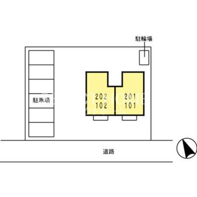 【区画図】CAPEHILLSⅡ