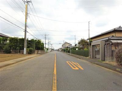 【前面道路含む現地写真】深谷市上柴町西6丁目 1580万 土地
