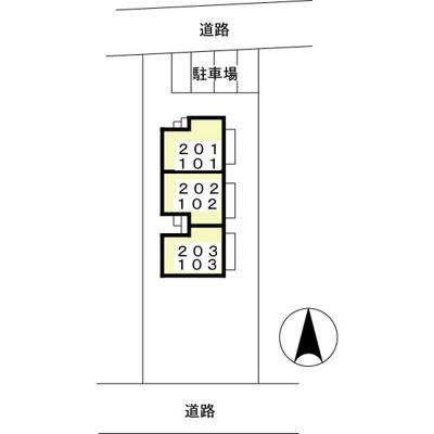 【区画図】クレール本郷