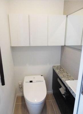 【トイレ】グランドメゾン白金の杜 ザ・タワー