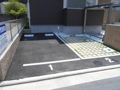 【駐車場】フジパレス湊1番館
