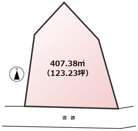 【土地図】東区多々良2丁目土地