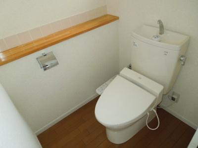 【トイレ】樽味住居付き店舗