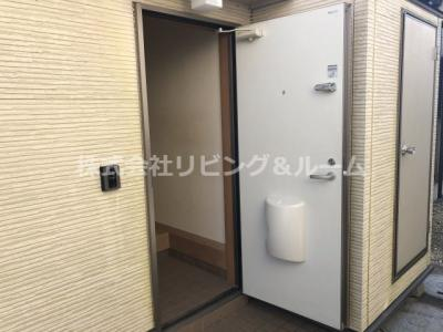 【玄関】新原ハイツ