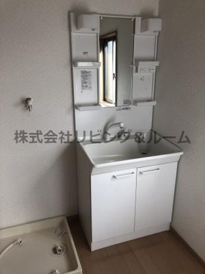 【独立洗面台】新原ハイツ