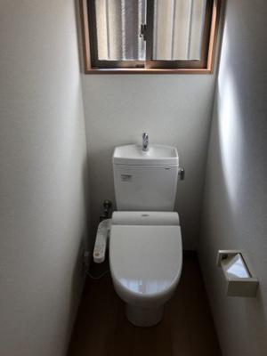 【トイレ】新原ハイツ