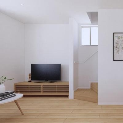 【内観:施工例】若葉町新築住宅