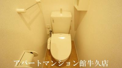 【トイレ】プラシードⅠ