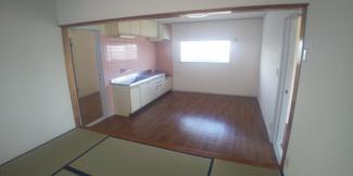 2階、キッチンです。