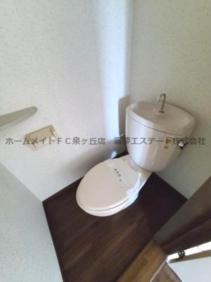 【トイレ】パークサイド津久野