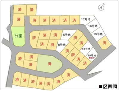 【区画図】滋賀県大津市雄琴4丁目