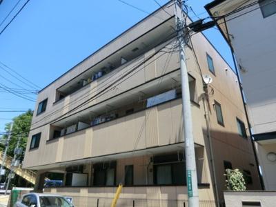 ★鉄骨造3階建てマンション!外観です。★