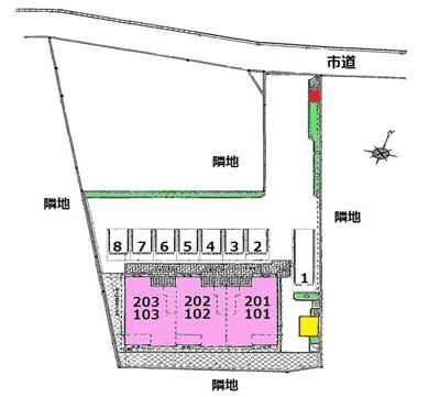 【駐車場】プラシードC