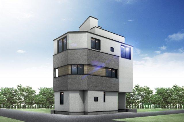 建物参考プラン(建築条件付売地)