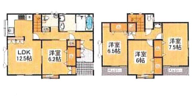 土地面積132.02平米、建物面積103.50平米~開放的な南西角地、日当たり、風通しの良い住居、全居室フローリングの4LDK