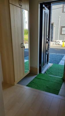 【玄関】新築建売 グラファーレ盛岡市東仙北