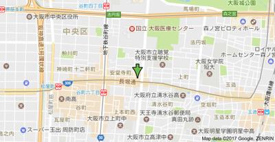 【地図】オリエンタル上町