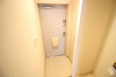 シューズボックスのある玄関