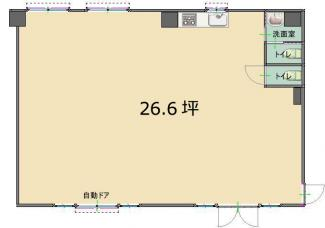 那覇市前島店舗事務所間取り図