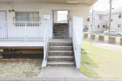 【エントランス】ビレッジハウス丸山4号棟