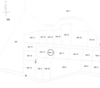 【地図】下小池町・売地
