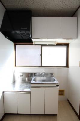 【キッチン】細貝ハイツ