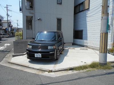 【駐車場】サンデッキ