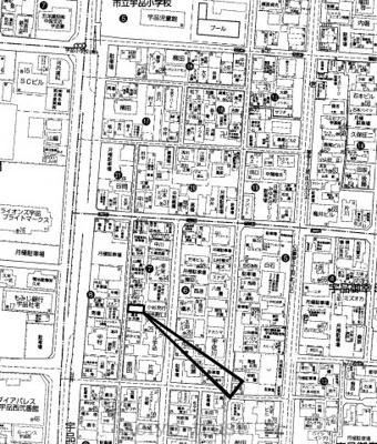 【区画図】南区宇品御幸5丁目