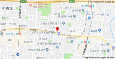 【地図】ディナスティ清水谷