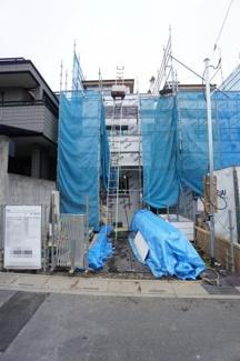【前面道路含む現地写真】中央区本町西新築戸建て