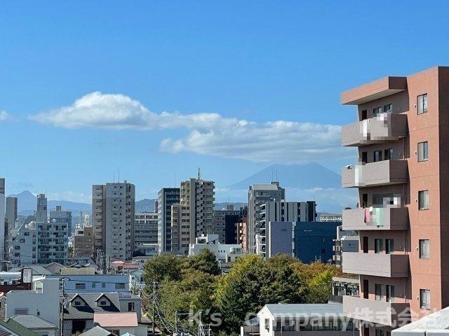 富士山が望めます。
