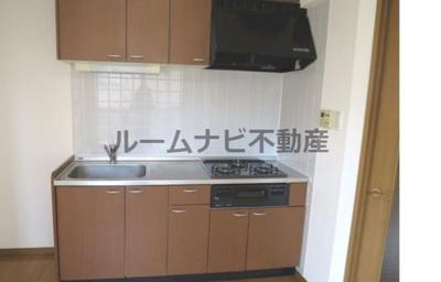 【キッチン】ペリグリンアパートメント