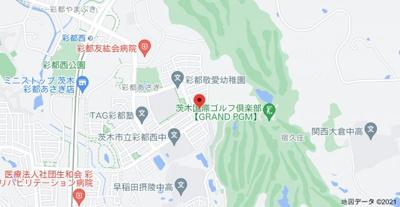 【地図】彩都あさぎ6丁目戸建