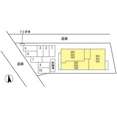 【区画図】メゾンドゥファミーユ