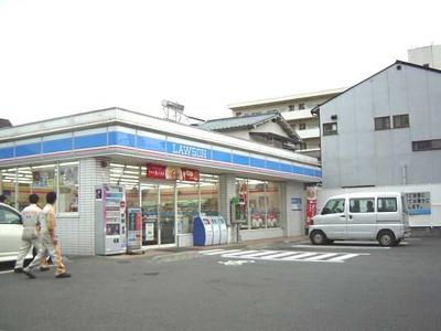 ローソン松山保免中店(コンビニ)まで200m