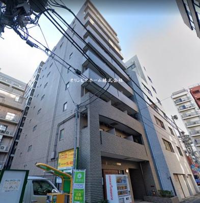 【外観】アヴィニティー銀座東 10階 最 上階 角 部屋 リ フォーム済