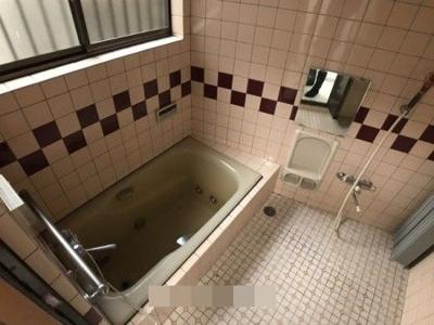 【浴室】左京区一乗寺東水干町 中古戸建