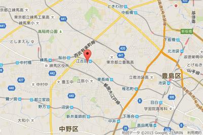 江古田ホワイトハイツの所在地