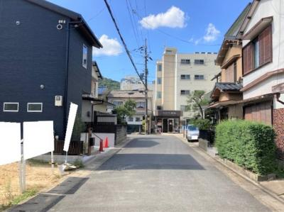 【前面道路含む現地写真】京都市山科区西野山射庭ノ上町