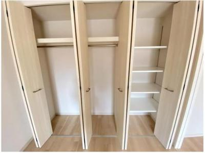 とても容量が大きい収納スペース!