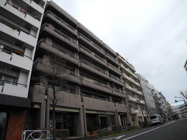 【外観】プチモンド新宿
