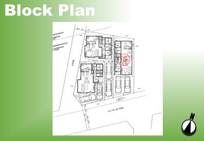 【区画図】足立区神明3丁目新築戸建て【全3棟】