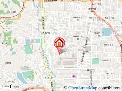 【地図】ユーミー久万ノ台・