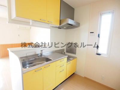 【キッチン】サン・グリーン・A棟