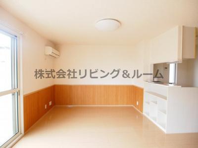 【居間・リビング】サン・グリーン・A棟