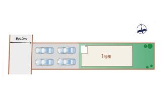 【区画図】長泉町下土狩3期 新築戸建 全1棟 (1号棟)