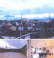 高台なので見晴らしの良い眺望です。屋上に位置するルーフバルコニーは壁があり、プライバシーが守られるのも嬉しいポイント◎ H24築の綺麗に使われた中古戸建です。
