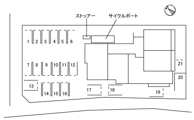 【区画図】(仮称)旭通りシャーメゾン