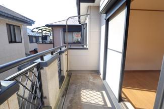 千葉市若葉区桜木 中古一戸建 桜木駅 2階中央の洋室にバルコニーがございます!