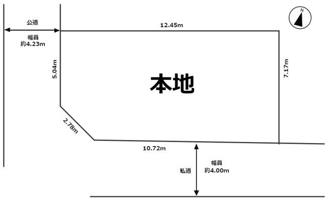 【区画図】練馬区早宮3丁目 新築戸建